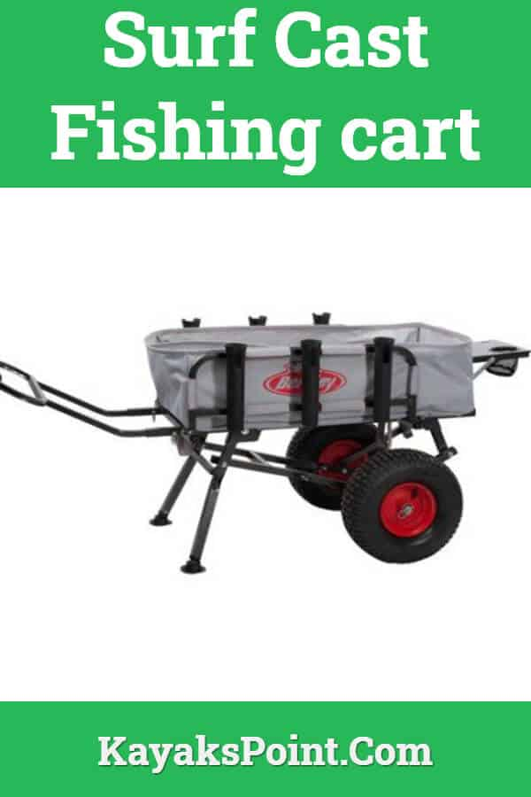 Surf Cast fishing cart