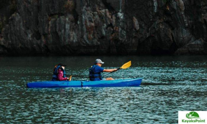 One Person Use A Two-Person Kayak