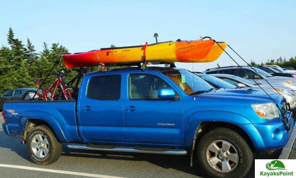 Load The kayak On J-Rack