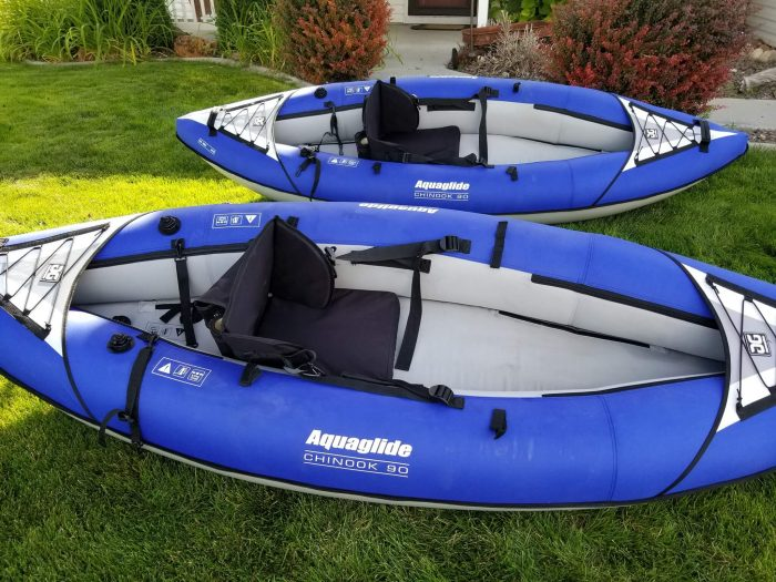 What Is The Aquaglide Chinook 90 Kayak